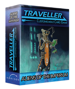 Traveller Customizable Card Game :  Aliens of the Imperium
